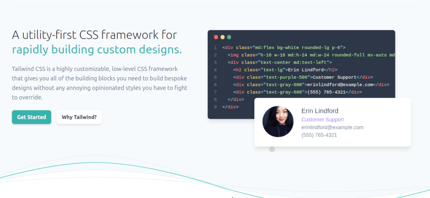 A utility-first CSS framework for rapidly building custom