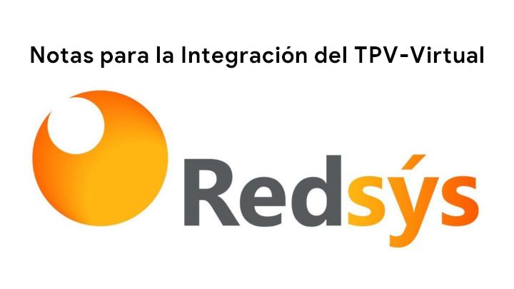 Notas para la Integración del TPV-Virtual